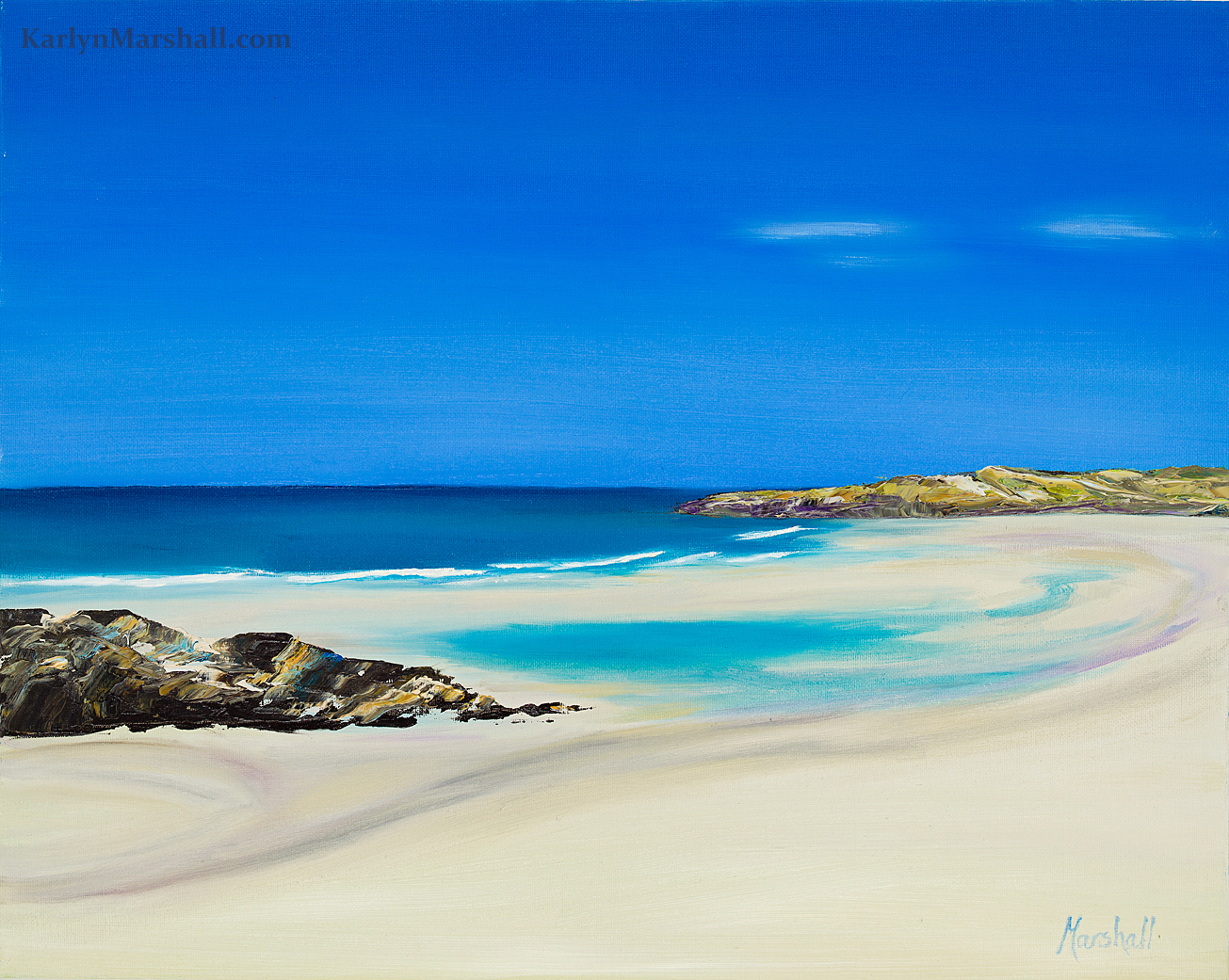 tiree scottish seascape karlyn marshall